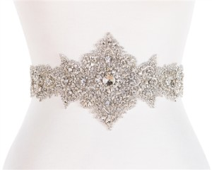 The Gabrielle belt; perfect for the bride with a little Heidi in her