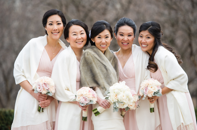 We found this cutie bridal party on theknot.com (photo courtesy of Misha Media Photography)